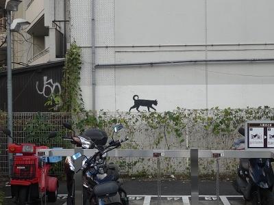 恵比寿駅近くの猫1