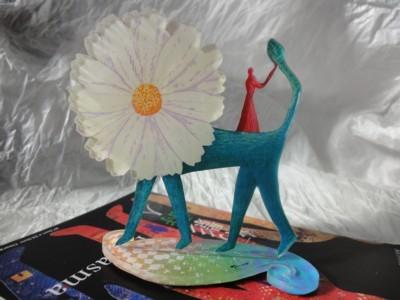 綿引明弘作品 「花のライオン」1