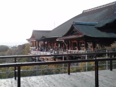 2011年10月31日 清水寺