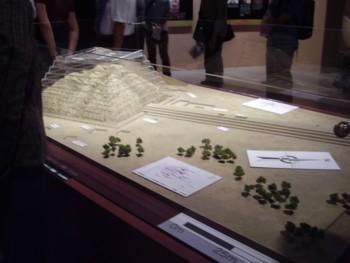 シカン展 ロロ神殿模型