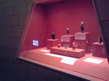 「シカン展」 土器の展示