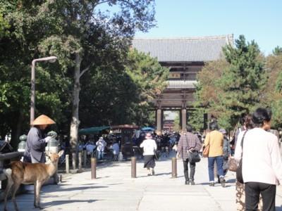 2011年10月31日 東大寺へ