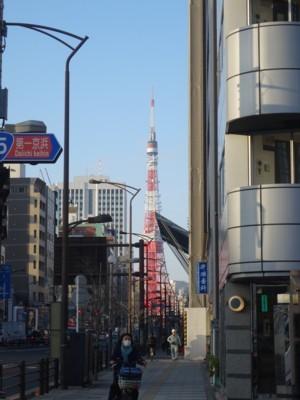 田町駅付近からの風景