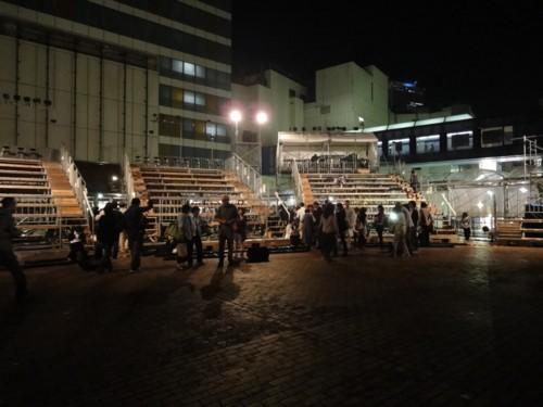劇団維新派「風景画」 東京・池袋 2011年10月16日終演後の客席