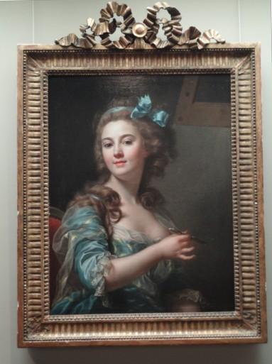 マリー=ガブリエル・カペの「自画像」