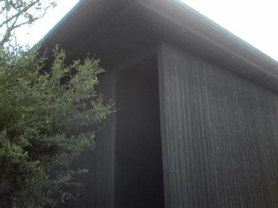 2010年10月29日 直島の南寺にて