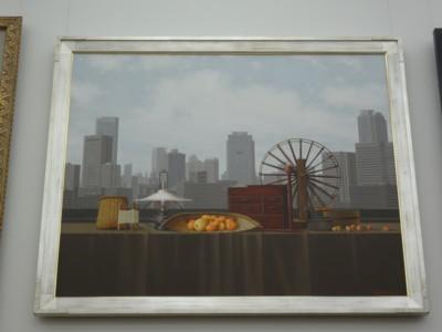 室佐吉作「窓辺の情景」2010年