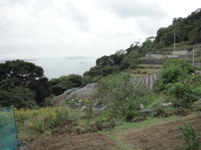男木島の風景